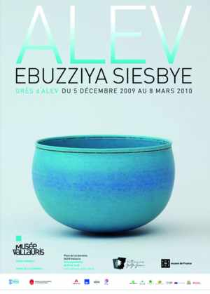 Exhibition Alev Ebüzziya Siesbye - Museum Magnelli,  Museum of ceramics - Vallauris