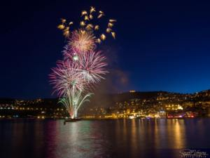 Firework displays on the Cote d'Azur!