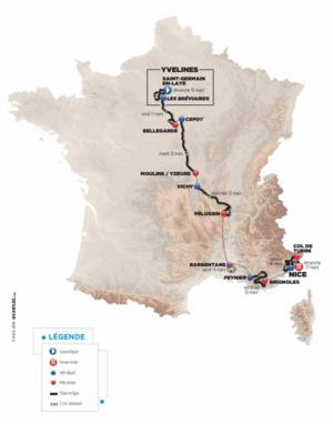 Paris-Nice Cycling race