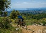 La Transvésubienne mountain biking event - La Colmiane