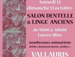 Salon dentelles et linge anciens à Vallauris