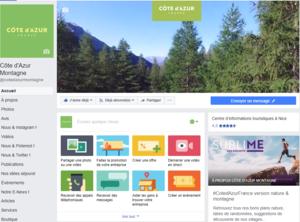 Suivez-nous sur Facebook Côte d'Azur Montagne !