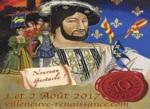 Villeneuve-Loubet celebrates the Renaissance