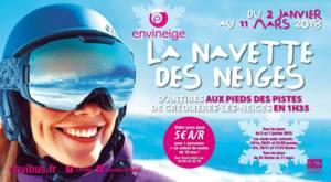 Envineige : d'Antibes à Gréolières-les-Neiges