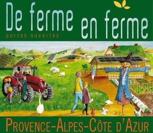 3ème édition de l'évènement De Ferme en Ferme dans les Alpes-Maritimes !