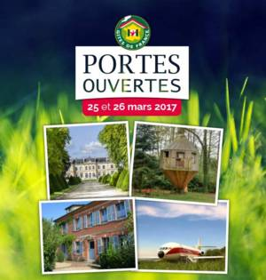 Week-end Portes-Ouvertes nationales des Gîtes de France®
