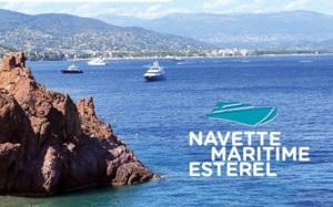 Nouveau : embarquez à bord de la Navette Maritime Estérel !