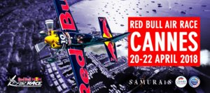 Red Bull Air Race Cannes France : 20 au 22 avril 2018