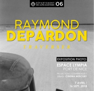 Exposition <i>Traverser</i> de R. Depardon à Nice