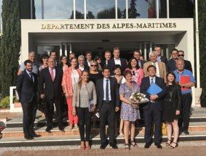 Réélection de David Lisnard à la Présidence du CRT Côte d'Azur France