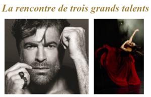 La rencontre de trois grands talents sur la Plage Barrière Le Majestic Cannes