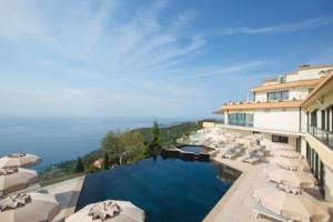 Les Terrasses d'Eze - Hôtel**** Restaurant & Spa, parrain du Top Fans Côte d'Azur France