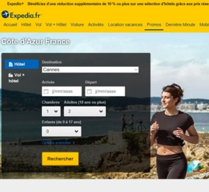 Lancement d'une campagne Marathon des Alpes-Maritimes Nice-Cannes avec Expédia