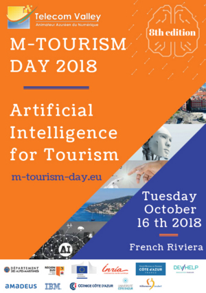 8ème m-Tourism Day, le 16 Octobre 2018 : « Artificial Intelligence for Tourism »