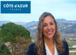 Nomination : Claire BEHAR, Directrice générale du CRT Côte d'Azur France
