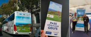 Destination golfique : Côte d'Azur France s'affiche à Paris pendant la RYDER CUP !