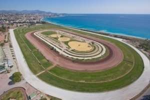Horse Riding - Winter meeting - Race course at Cagnes-sur- Mer