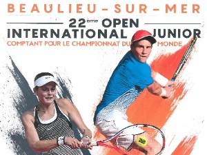 Open international junior tennis c te d 39 azur france - Office de tourisme de beaulieu sur mer ...