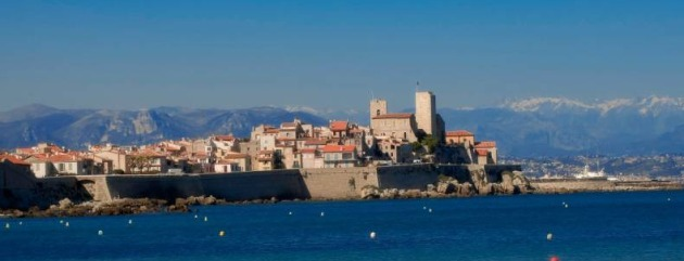 Antibes and its surroundings