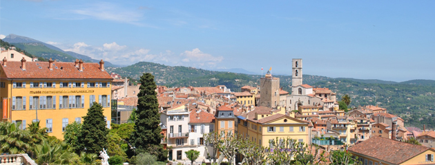 Grasse and its surroundings