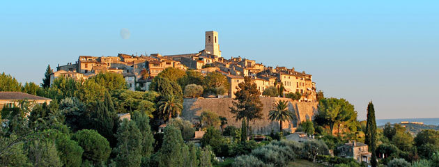 Vence and its surroundings