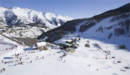 Auron skiing resort