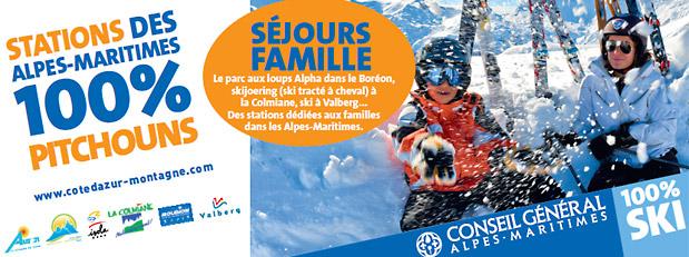 Séjours famille ski